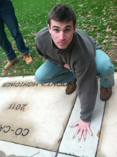 Nick Finan followed in the handprints of former Tider and current Patriot Dont'A Hightower.