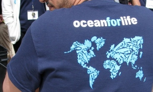 Ocean Shirt cropped