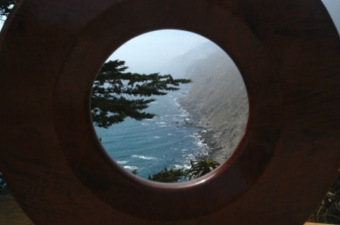 A ringside view from Ragged Point.