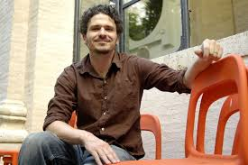 Dave Eggers, writer and advocate. (Photo from Huffington Post.)