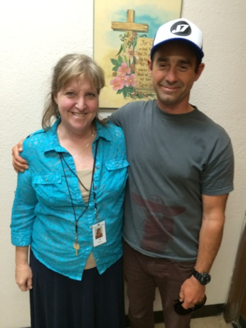 Jill and colleague 6-18-14